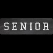 Senior Word Art