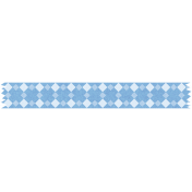Blue Diamond Washi Tape