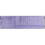 Periodic Table Washi Tape