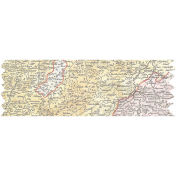 Map Washi Tape