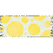 Yellow Polka Dot Washi Tape