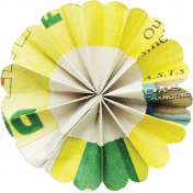 A Bouquet of Freshly Sharpened Pencils- Paper Flower 03