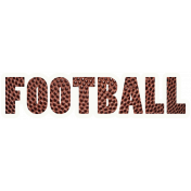 Football Word Art