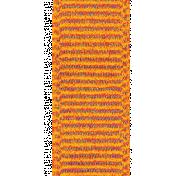 A Bouquet of Freshly Sharpened Pencils- Orange Ribbon