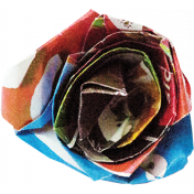 A Bouquet of Freshly Sharpened Pencils- Paper Flower 07