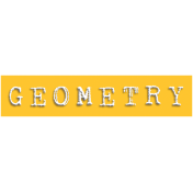 Geometry Word Snippet