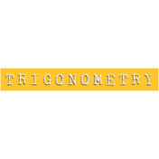 Trigonometry Word Snippet