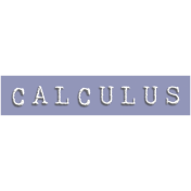 Calculus Word Snippet