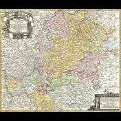 A Bouquet of Freshly Sharpened Pencils- Map Ephemera