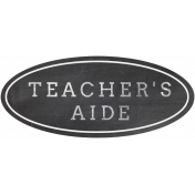Teacher's Aide Word Art