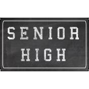 Senior High Word Art