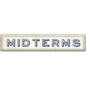 Midterms Word Art
