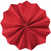 Independence Red Accordion Flower