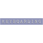 Keyboarding Word Snippet