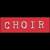 Choir Word Snippet