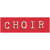 Choir Word Snippet