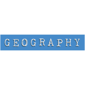 Geography Word Snippet