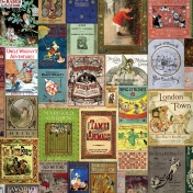 Book Covers Ephemera Paper 1