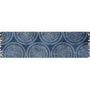 Reading, Writing, and Arithmetic- Blue Emblem Washi Tape