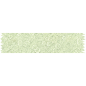 Reading, Writing, and Arithmetic- Green Floral Washi Tape