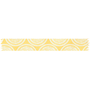 Reading, Writing, and Arithmetic- Yellow Emblem Washi Tape