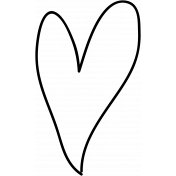Heart Doodle 002