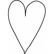 Heart Doodle Template 003