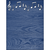 Reading, Writing, and Arithmetic- Music Journal Card
