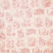 Red Alice in Wonderland Paper
