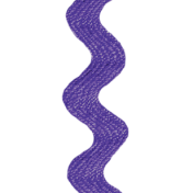 Reading, Writing, and Arithmetic- Purple Ric Rac 01