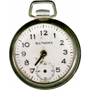 Reading, Writing, and Arithmetic- Pocket Watch
