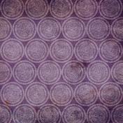 Purple Circles Paper