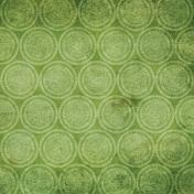 Green Circles Paper