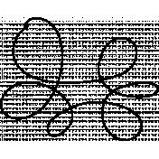 Swirl Doodle Template 007