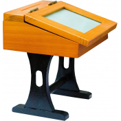 Reading, Writing, and Arithmetic- Vintage Desk
