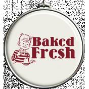 Baked Fresh Pendant