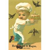 Vintage Advertisement Card 01