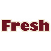 Fresh Word Art