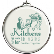 Kitchens Bring Families Together Pendant