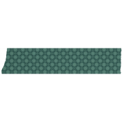 Teal Patterned Washi Tape