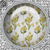 Yellow Floral Brad