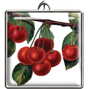 Square Cherries Pendant