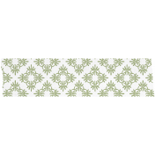 Green Patterned Washi Tape