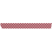 Grandma's Kitchen Red Polka Dot Washi Tape
