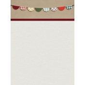 Grandma's Kitchen Banner Journal Card