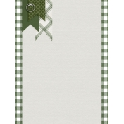 Green Flags Journal Card