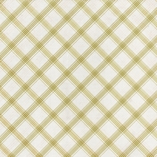 Grandma's Kitchen- Light Green Plaid Paper
