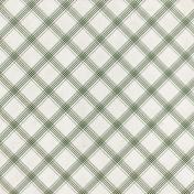 Grandma's Kitchen- Olive Plaid Paper
