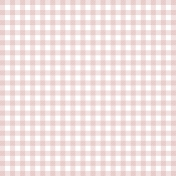 Grandma's Kitchen- Pink Gingham Paper