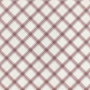 Grandma's Kitchen- Plum Plaid Paper